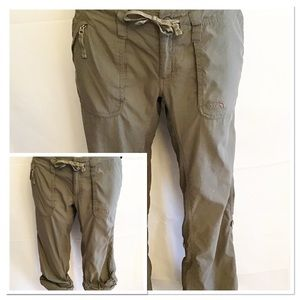 The North Face Olive Green Convertible Pant Size 6